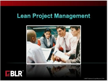 Lean Project Management Course