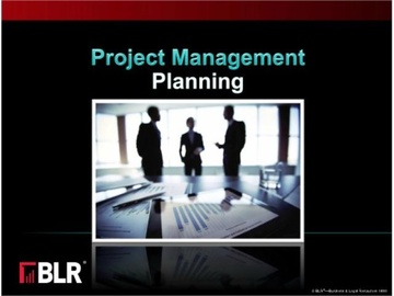 Project Management: Planning Course