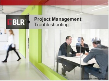 Project Management: Troubleshooting Course