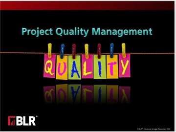 Project Quality Management Course