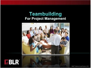 Teambuilding for Project Management Course