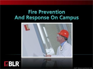 Fire Prevention and Response on Campus (HTML 5) Course