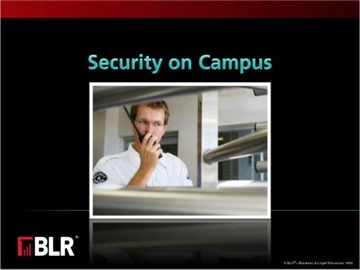 Security on Campus (HTML 5) Course
