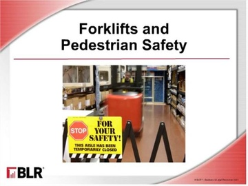 Forklifts and Pedestrian Safety Course