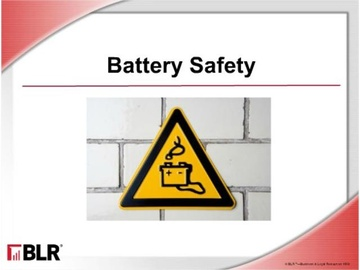 Battery Safety Course