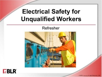 Electrical Safety: Refresher (HTML 5) Course