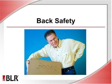 Back Safety: Refresher (HTML 5) Course