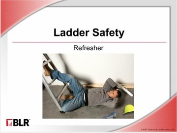 Ladder Safety: Refresher (HTML 5) Course