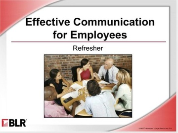 Effective Communication For Employees: Refresher (HTML 5)