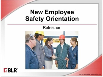 New Employee Safety Orientation: Refresher (HTML 5) Course