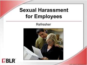 Sexual Harassment for Employees: Refresher (HTML 5) Course