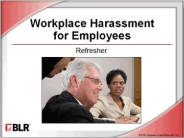 Workplace Harassment for Employees: Refresher (HTML 5) Course
