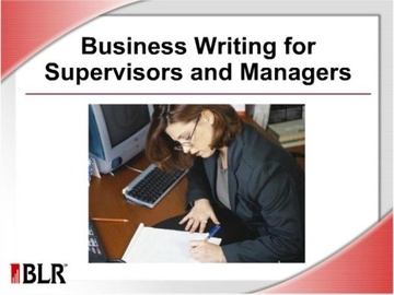 Business Writing for Supervisors and Managers (HTML 5)