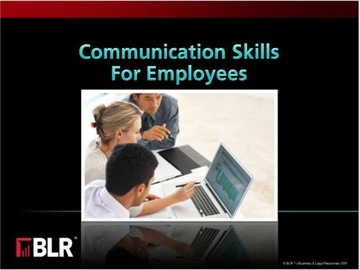 Communication Skills for Employees (HTML 5) Course