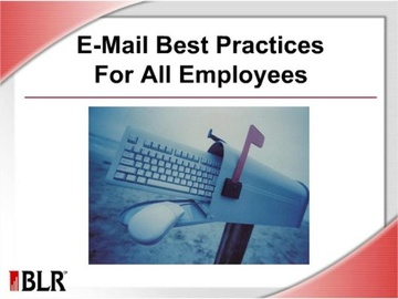 E-Mail Best Practices for All Employees (HTML 5) Course