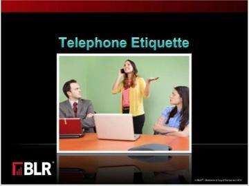 Telephone Etiquette (HTML 5) Course