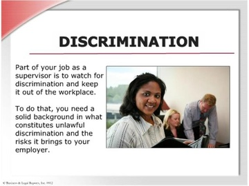Discrimination (HTML 5) Course