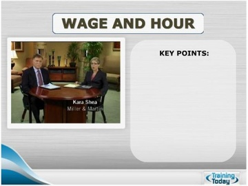 Wage and Hour (HTML 5) Course