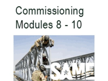 The Total Building Commissioning Process - Modules 8 through 10