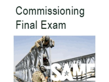 The Total Building Commissioning Process - Final Exam