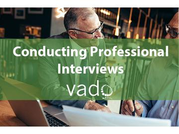 Conducting Professional Interviews