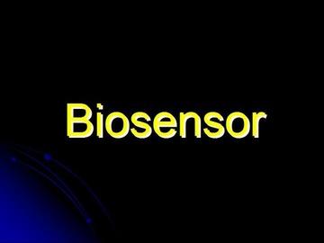 STPM Bio Question 5 - Biosensor