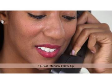 213. Post Interview Follow Up