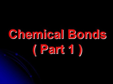 SPM Chemistry Question 2 - Chemical Bonds (Part 1)