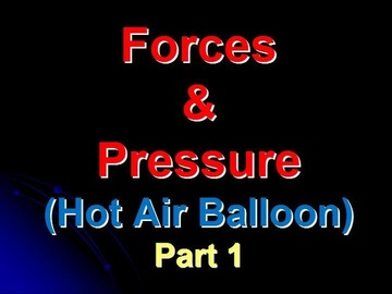 SPM Physics Question 3 - Hot Air Balloon (Part 1)