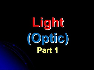 SPM Physics Question 4 - Optic (Part 1)