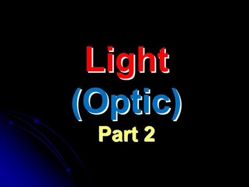 SPM Physics Question 4 - Optic (Part 2)
