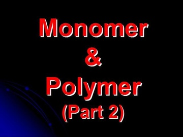 SPM Chemistry Question 5 - Monomer & Polymer (Part 2)