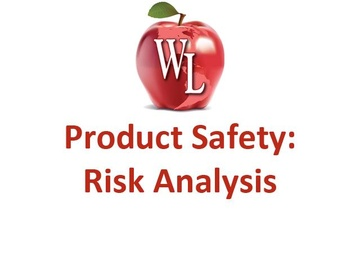 Product Safety: Risk Analysis