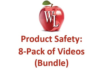 Product Safety: 8-Pack of Videos (Bundle) - Single License