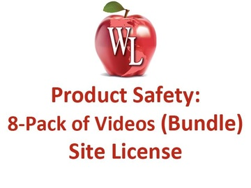 Product Safety: 8-Pack of Videos (Bundle) - Site License