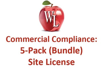 Commercial Compliance: 5-Pack of Videos (Bundle) - Site License