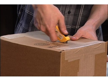 Boxcutter/Utility Knife Safety - Video