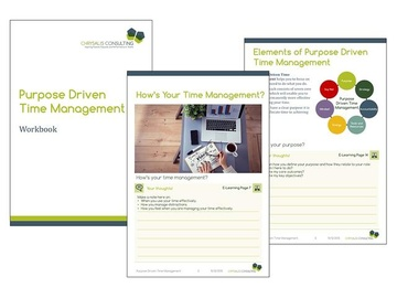 Introduction to Purpose Driven Time Management