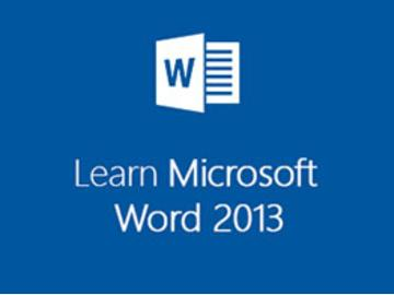 Learn Microsoft Word 2013 the Easy Way