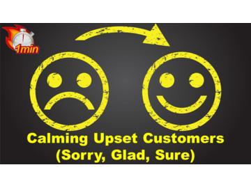 Calming Upset Customers