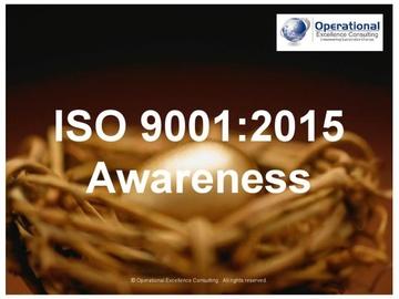 ISO 9001:2015 (QMS) Awareness Training