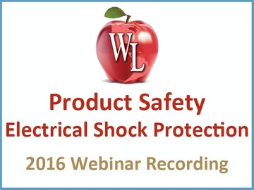 Product Safety: Electrical Shock Protection [2016 Webinar Recording] (module)