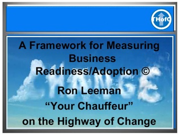 A Framework for Measuring Business Readiness & Adoption