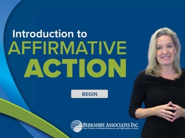 Introduction to Affirmative Action credited course