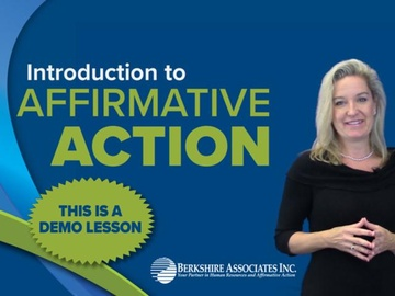 Introduction to Affirmative Action DEMO
