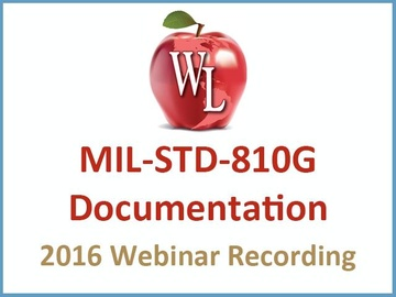 MIL-STD-810G: Documentation [2016 Webinar Recording]
