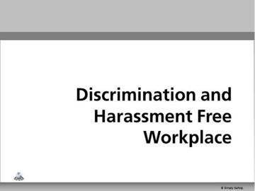 Discrimination and Harassment V2.16