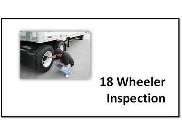 18 Wheel & Straight Truck Security Inspection Procedures V2.6 Course