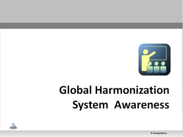 Globally Harmonized System of Classification and Labeling of Chemicals [GHS] V2.6 (Course)