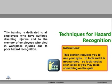 Hazard Recoginition V2.16 Course